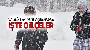 Tokat'ta Hangi Okullar Tatil?