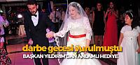 15 Temmuz Gazisinin Düğün Masraflarını Başkan Yıldırım Karşıladı