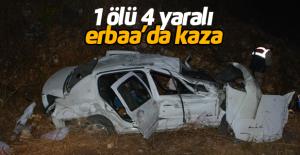 Erbaa'da trafik kazası: 1 ölü 4 yaralı