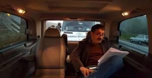 """Cem Davran, """"Babamın Kemikleri"""" filmi için kamera karşısına geçti"""
