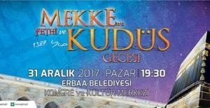 AGD'den Erbaa'da Mekke'nin fethi ve Kudüs gecesi programı