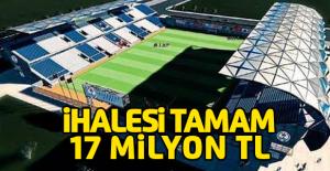 Yeni Erbaa İlçe Stadyumunun ihalesi yapıldı