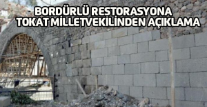 Kadim Durmaz'dan Niksar'daki köprü restorasyonu için açıklama