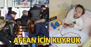 Lösemili minik Affan için kampanya
