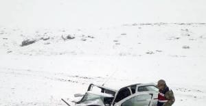 Tokat'ta sağlık ekipleri nöbet dönüşü kaza yaptı: 5 yaralı