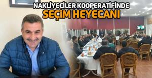 Erbaa Nakliyeciler Kooperatifinde seçim heyecanı