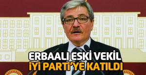 Erbaalı devlet eski bakanı Reşat Doğru İYİ Parti'ye katıldı