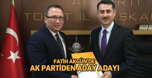 Fatih Akgün'de aday adayı oldu