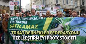 Şeker Fabrikalarının Özelleştirilmek İstenmesi Protesto Edildi