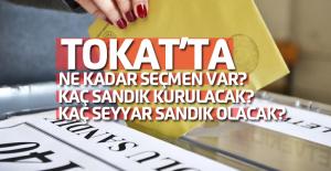 24 Haziran'da Tokat'ta kaç seçmen oy kullanacak?