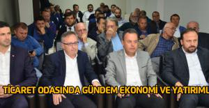 Erbaa Ticaret ve Sanayi Odasında toplantı