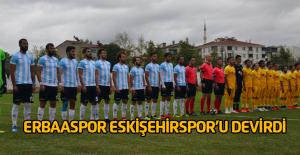Erbaaspor- Eskişehirspor: 1-0
