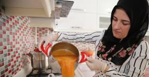 Tokat'ın meşhur kırmızı biber tarhanası