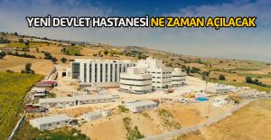 150 yataklı Yeni Erbaa Devlet Hastanesinde sona gelindi
