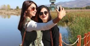 Kaz Gölü, Kuş Çeşitliliği ile Ziyaretçilerin İlgisini Çekiyor