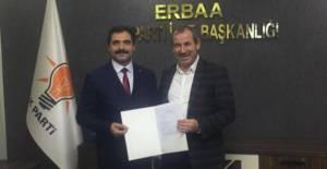 Erbaa AK Parti'de ilk aday adaylığı başvurusu yapıldı