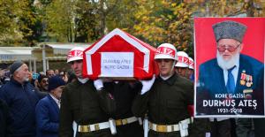 Erbaalı Kore Gazisi son yolculuğuna uğurlandı