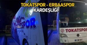 Tokatspor'dan Erbaaspor'a otobüs jesti