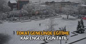 Tokat'ta Kar Tatili