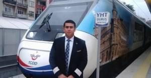 Tren kazasında hayatını kaybeden makinist son yolculuğuna uğurlandı