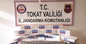 Erbaa'da Jandarmadan kaçak sigara operasyonu