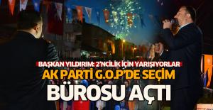 Ak Parti Erbaa'da seçim irtibat bürosu açtı