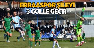 Erbaaspor- Şile Yıldızspor: 3-1