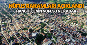 Nüfus rakamları açıklandı Tokat'ta hangi ilçede kaç kişi yaşıyor işte cevabı