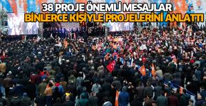 Başkan Yıldırım 38 projesini açıkladı