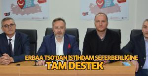 Erbaa TSO Başkanı Coşkun: Erbaa'da 2 bin istihdamın sözünü veriyoruz