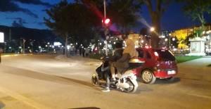 Elektrikli motosikletle tehlikeli yolculuk