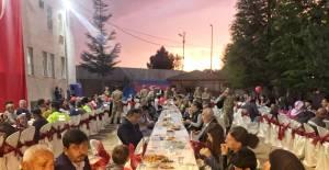 Erbaa'da Şehit yakınları ve gaziler iftarda buluştu