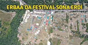 Erbaa Yaprak Festivali Küçük Yayladaki konserlerle sona erdi