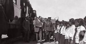 İlk kazmayı Atatürk'ün vurduğu Samsun-Sivas Kalın demiryolu hattı yenilendi