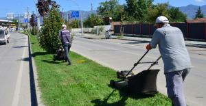 Erbaa Belediyesi Bayram öncesi ilçede temizlik çalışması başlattı