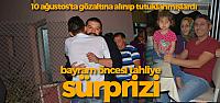 2 Belediye Çalışanının Bayram Öncesi Tahliye Mutluluğu