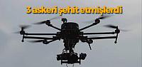 3 Askeri Şehit Eden PKK'lılar Drone ile Aranıyor