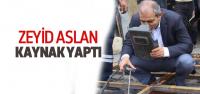 Ak Partili Aslan'dan Sade Seçim Çalışması