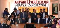 AK Partili Vekiller Erbaa'da