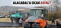 Alacabal Mahallesine 250 ton asfalt serildi