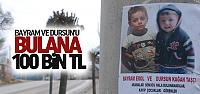 Çocukları Bulana 100 Bin TL Ödül