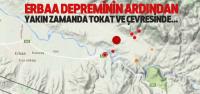 Erbaa'da 5,1'lik Depremin Ardından