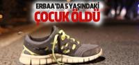Erbaa'da 5 Yaşındaki Çocuk Trafik Kazası Kurbanı