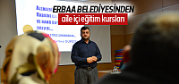 Erbaa'da Aile içi Eğitim Kursu
