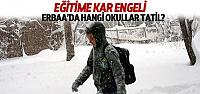 Erbaa'da Hangi Okullar Tatil?