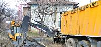 Erbaa'da sulama kanallarında temizlik çalışması