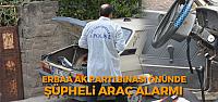 Erbaa'da Şüpheli Araç Alarmı