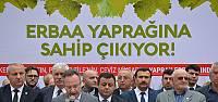Erbaa'da Tokat Valisi Cevdet Can'a Tescil Tepkisi