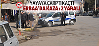 Erbaa'da Yayaya Çarpıp Kaçtı: 2 Yaralı