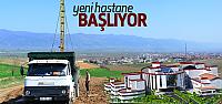 Erbaa'da Yeni Devlet Hastanesi için Jeolojik Etüt Çalışması Başlatıldı